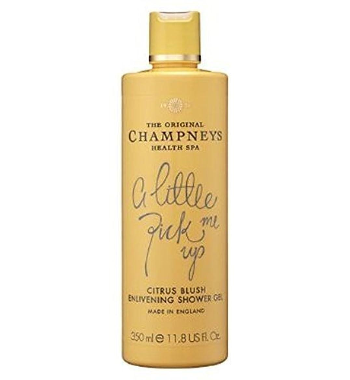 文明化襟と闘うChampneys Citrus Blush Enlivening Shower Gel 350Ml by Champneys