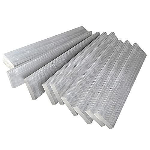 SHHMA Barra Piatta in Alluminio Barra Piatta Alluminio,Profilo in Metallo da Costruzione, 30 Mm X 4 Mm, 10 Pezzi
