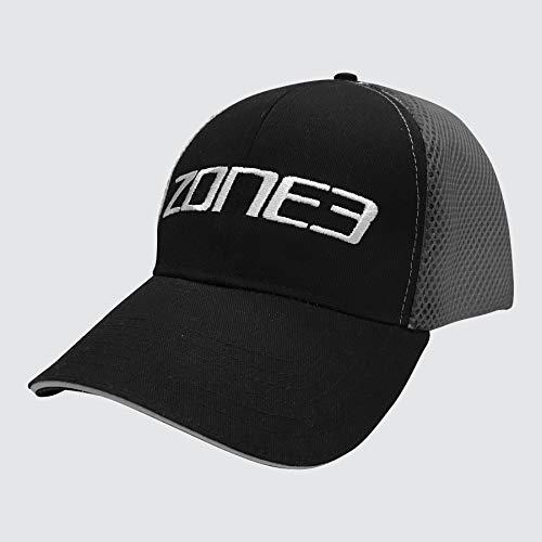 ZONE3 Trucker Netzkappe, schwarz/grau, One Size
