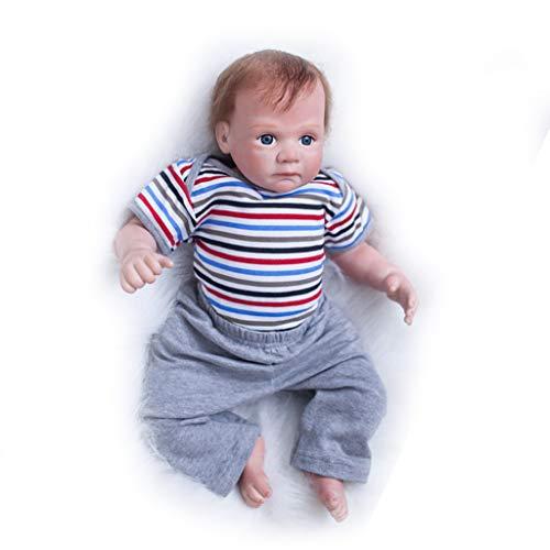 Mini muñeca niñas durmiendo en cuerpos de silicona de vinilo juguetes hechos a mano y vestido morado