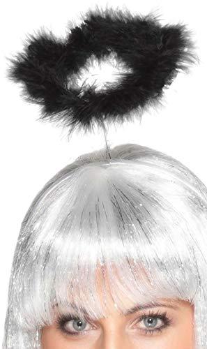 Guirca Fiestas GUI19608 - Figura de ángel Negro