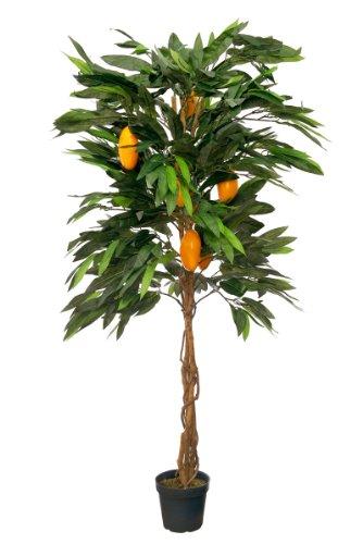 McPalms Mangobaum 1,50 m Kunstbaum Kunstpflanze künstlich