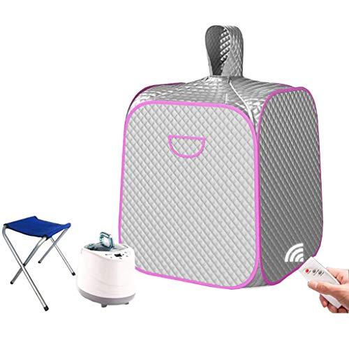 Draagbare sauna persoonlijk stoombad Tent Spa voor thuis, persoonlijke spa, saunpak, gewicht loss lichaamsbarrel 2 liter met kleine stoel