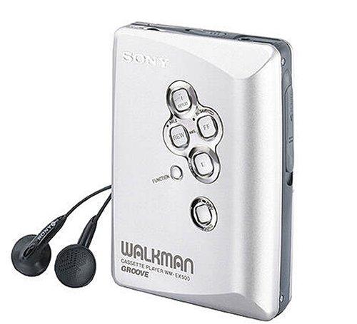 Sony WM-EX500/S tragbarer Kassettenspieler Silber