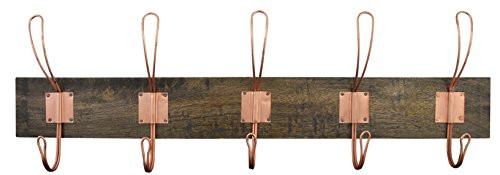 HSI Garderobenleisten Robby Cruse Holz, 690 x 210 x 95 mm, antik, 854330