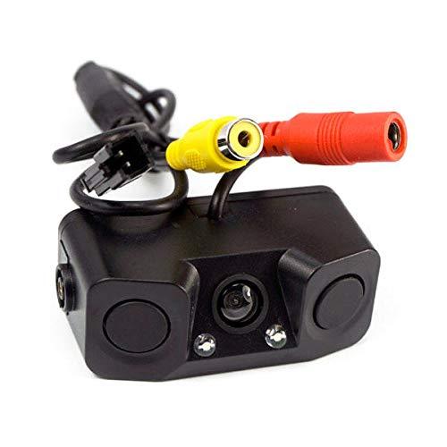 IENPAJNEPQN Detector de Ayuda al Aparcamiento Sensor de Vista Trasera cámara Vista del revés del Coche del Radar