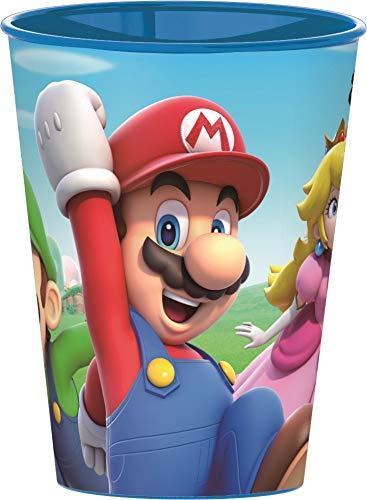 Nintendo Super Mario Trinkbecher Saftbecher Becher 4er Set