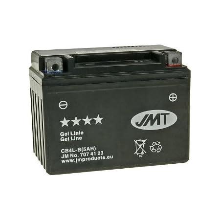 2extreme 5ah 12 Volt Batterie Wartungsfrei Inklusive 7 50 Batteriepfand Kompatibel Für Piaggio Nrg Power Dt 50 Ab Bj 2005 Auto