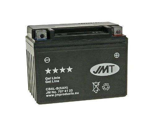 Batterie JMT GEL Line High Power 5Ah jmb4l-b für Peugeot Speedfight 250LC DD WRC 307(2005)