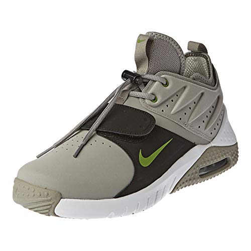 Nike Air Max Trainer 1 Leather, Sneakers Basses Homme, Multicolore (Medium Grey/Chlorophyll/White/Black 001), 41 EU