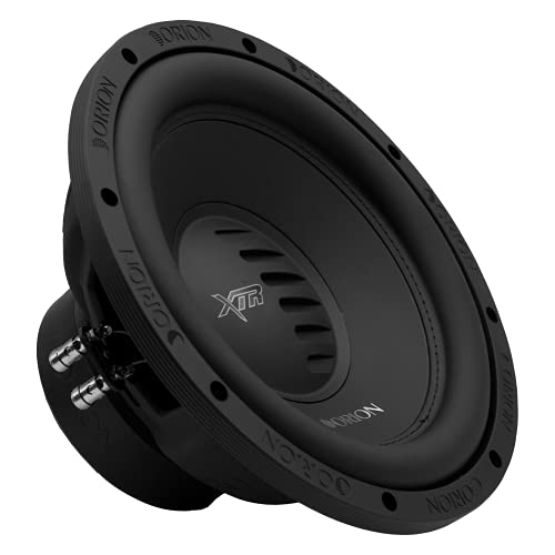 Orion XTR Subwoofer DVC 4 OHM Max Music Power Watts Subwoofer Black Speaker Car Stereo Bass Woofers (XTR124D, 12 Inch - DVC 4 OHM)