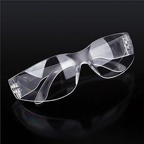 MASUNN Las Gafas De Seguridad En El Lugar De Trabajo Ojos Transparentes Protectores Polvo Anti Niebla