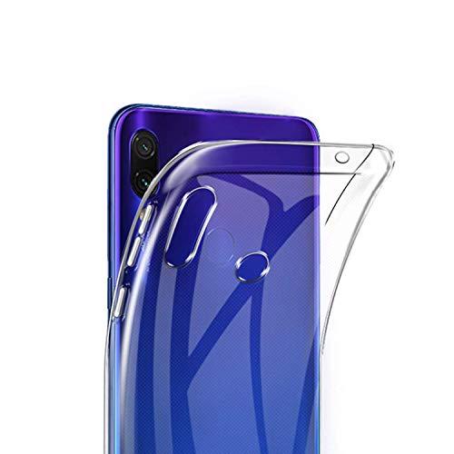 """Capa Capinha Tpu Flexível Transparente Para Xiaomi Redmi Note 7 e Note 7 Pro de Tela 6.3"""" Polegadas - Case Proteção Clear Ultra Fina - Danet"""