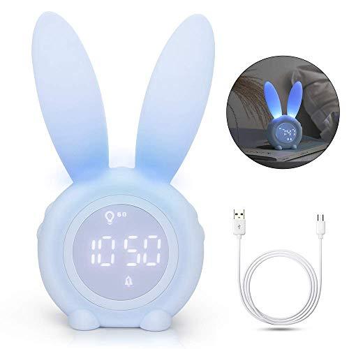 Yidenguk Reloj despertador lindo conejo