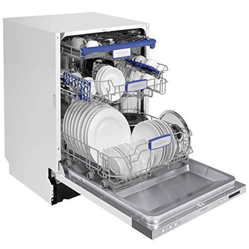 Oranier GAVI 7584-7584 63 Vollintegrierbarer Einbaugeschirrspüler Spülautomat