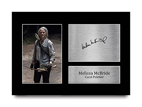 HWC Trading A4 Melissa McBride The Walking Dead Carol Peletier Geschenke Gedruckt Signiert Autogramm Bild Für Fernsehen Zeigen Fans