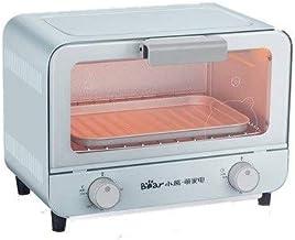 LHT Inicio Horno multifunción Horno eléctrico automático de la Torta de la hornada del Pan pequeño Mini Electrodomésticos Microondas (Color : Blue)