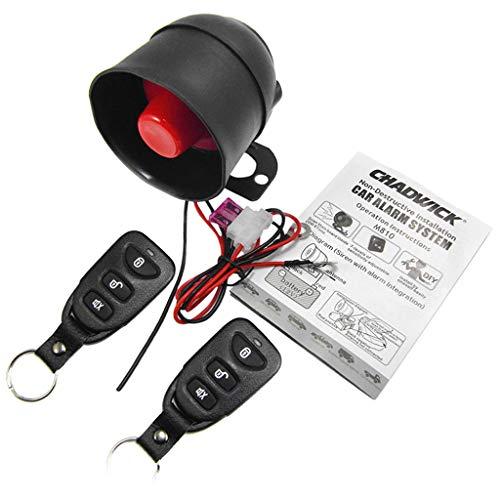 Baoblaze Juego de Sistema de Alarmas de Automóvil Instalación no