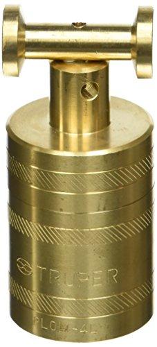 TRUPER PLOM-4L Brass Plumb Bobs w/ Center 21 Oz (582 g)
