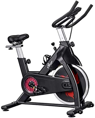 FISUP Exercise Bike Indoor Cycling Bike Cardio Stationary Fitness Bike with Belt Drive System product image