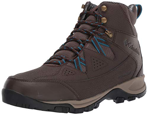 Columbia Men's LIFTOP III Snow Boot, Cordovan, Lagoon, 10 Regular US