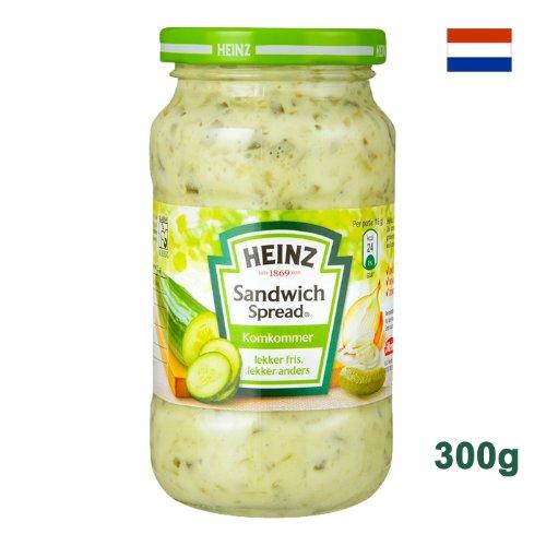 Heinz Sandwich Spread Komkommer 300g - Brotaufstrich mit Gurke und verschiedenem Gemüse