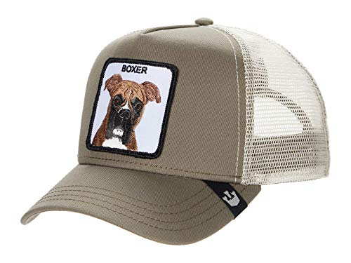 Goorin Bros Trucker Cap Boxer/Hund Brown - One-Size
