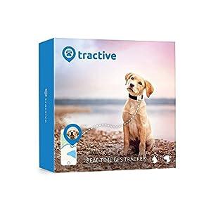 immagine di Tractive Localizzatore GPS per animali domestici, Bianco, Taglia Unica