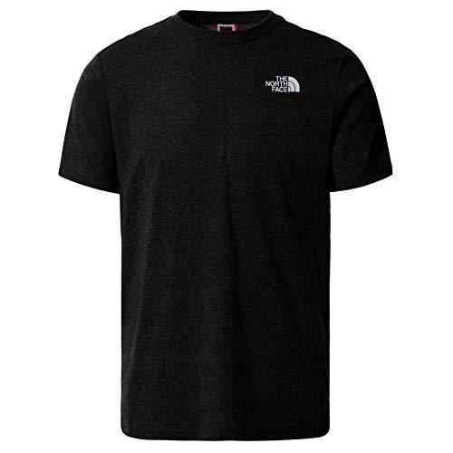 The North Face – Maglietta da Uomo a Maniche Corte Graphic 4 – Maglietta Standard con Collo Rotondo - Black, S