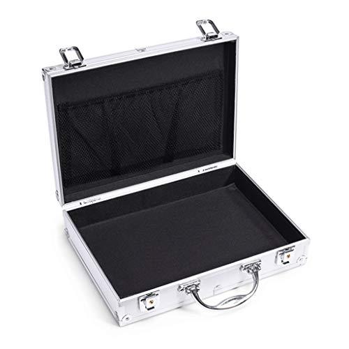 juego de alicates Aleación de aluminio Caja de herramientas portátil de aluminio Maletín de lados duros con Bloqueos de combinación Caja de herramientas kit de herramientas con herramientas