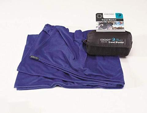 Cocoon Travel Blanket Royal Blue Unisex 70 X 55
