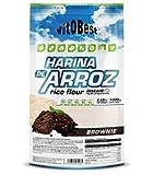 Harina de Arroz Sabores Variados - Suplementos Alimentación y Suplementos Deportivos - Vitobest (Galleta, 1 Kg)