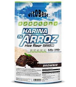 Harina de Arroz Sabores Variados - Suplementos Alimentación y Suplementos Deportivos - Vitobest...