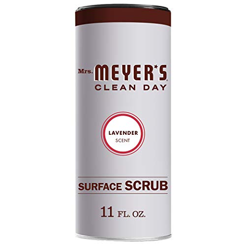 Mrs. Meyer's Clean Day Surface Scrub, Removes grime on Kitchen and Bathroom Surfaces, Non Scratching...