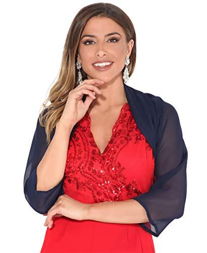 KRISP Bolero Chaqueta Mujer Moda Fiesta