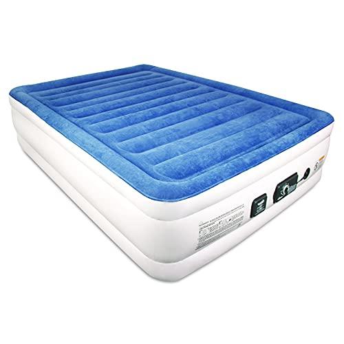 SoundAsleep CloudNine Series Queen Air Mattress with Dual Smart Pump Technology by SoundAsleep...
