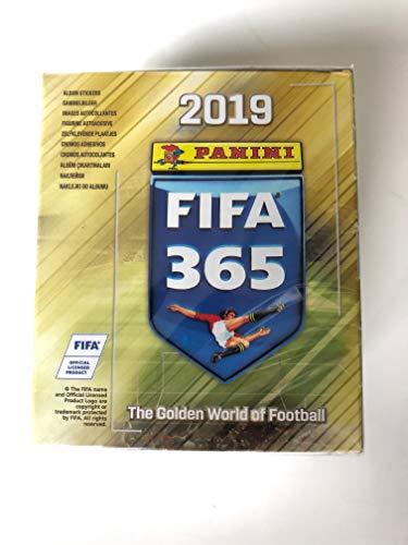 Panini FIFA 365 - 2019 (50 Sticker/Display) Version für Belgien, Holland u.a. Länder - Nicht die deutsche Version!