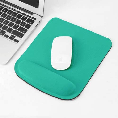 Xfwj Office muismat met pols Protection Silicone Hand Ondersteuning Non-slip Mouse Pad Game Gaming thuiskantoor Waterproof Mouse Pad Notebook Computer Desktop Game
