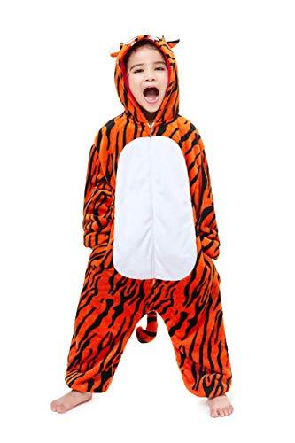 Unisex Licorne Pyjama Combinaison Vêtement de Nuit Cosplay Costume Déguisement Unicorn pour Enfant...