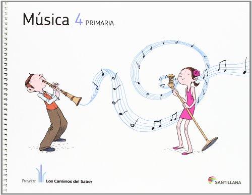 MUSICA + CD 4 PRIMARIA - 9788468009575