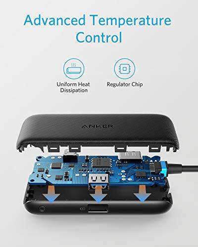 Anker Classic 3-in-1 USB-C-Adapter, mit 4K USB-C auf HDMI, 60W Power Delivery, USB 3.0, für MacBook Pro 2016 / 2017 / 2018, Chromebook, XPS, und mehr