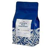JA Coffee - Certificado Auténtico - Café Blue Mountain de Jamaica, Granos Enteros - Bolsa de 16 oz (454 g) - Tostión Media - Cuerpo suave y delicado.