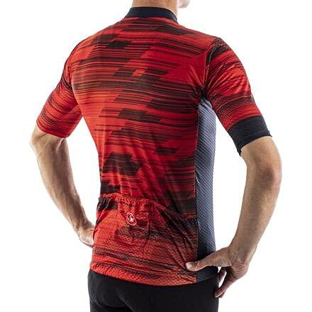 CASTELLI maglia manica corta uomo Rapido Jersey - Rosso/Blu