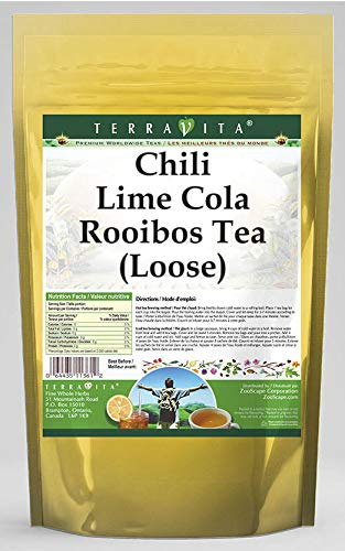 Chili Lime Cola Rooibos Tea Loose Milwaukee Mall 4 2 oz - ZIN: Pack 544138 Gifts