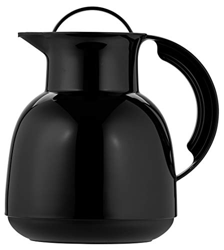 Helios Renature Kunststoff-Isolierkanne, schwarz, 1 Liter