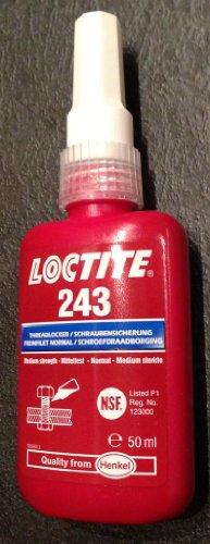 Loctite® 243 1335884 Schraubensicherung Festigkeit: mittel 50ml
