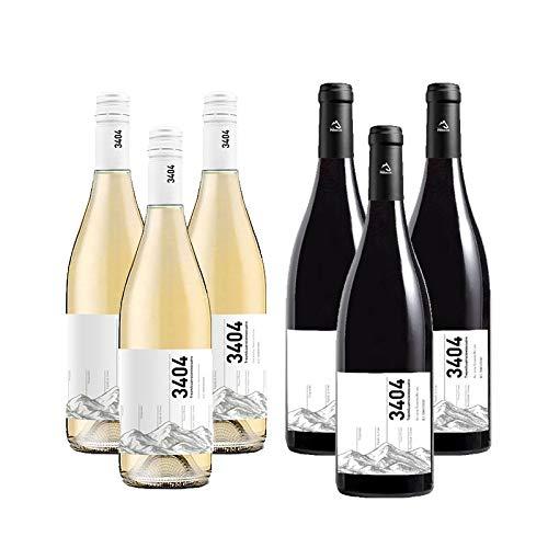 Vino Tinto y Blanco 3404 - D.O. Somontano - Mezclanza Barbadillo (Pack de 6 botellas)