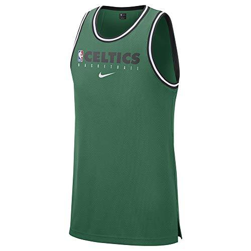 Nike Men's Boston Celtics Jersey 100% Polyester BQ9321 Green (Large)