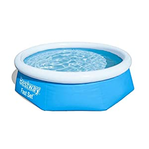 Bestway FastSet Pool Set Piscina Desmontable Autoportante, 244×66 cm