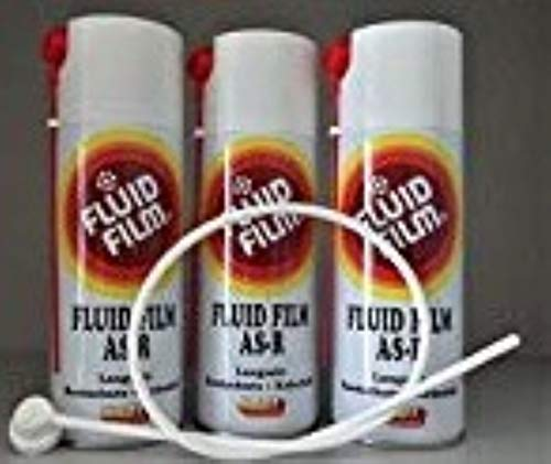 Fluid Film AS-R 400 ml Spray Can, 3 pack with probe